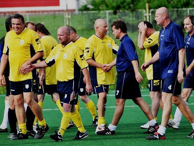 V exhibičním utkání dorostenců z roku 1978 tým ČZ porazil Fezko 4:0 (2:0).