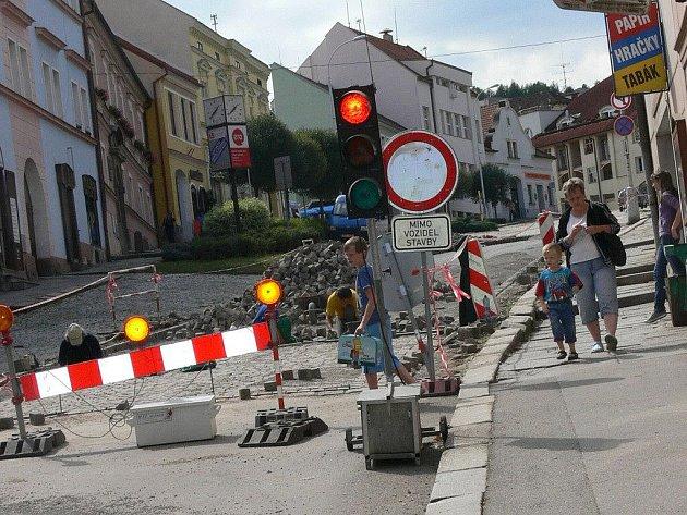 Centrum Volyně je od 15. srpna uzavřené.
