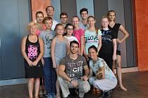 Soustředění mladých tanečníků