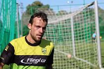 Jakub Říský vstřelil v derby dvě branky.