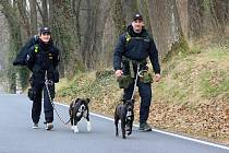 Pochodu se účastní také příslušníci dalších bezpečnostních složek.