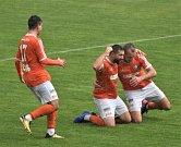 Fotbalový KP: Blatná - Katovice 1:5.