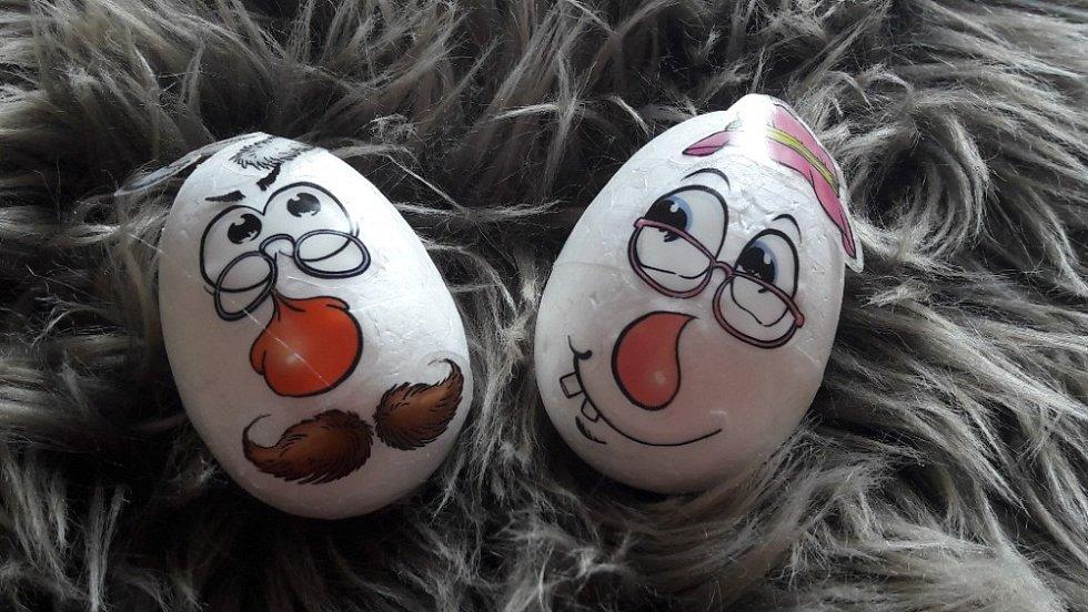 Velikonoční vajíčka od Hany Růžičkové.