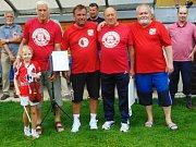 Přátele Slávie Praha byli v na 18. setkání odboček v Kardašově Řečici.