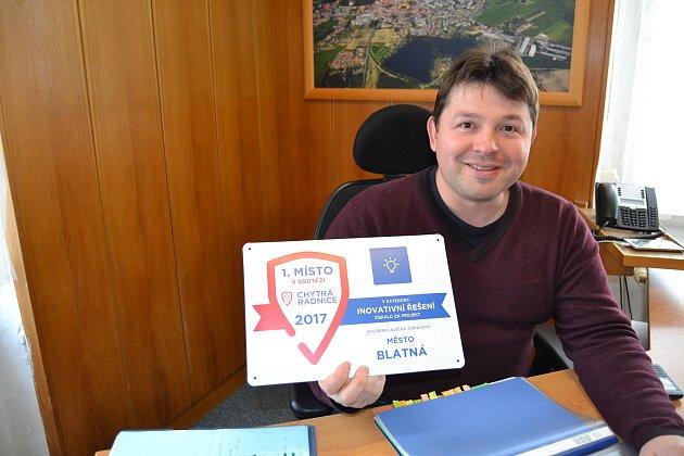 V soutěži Chytrá radnice získali s projektem solární lavička Capa Sitty 1. místo.