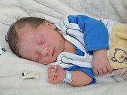 Christian Mann, Úbislav, 28. 1. 2018, ve 13.36 hodin, 3550 g. Malý Christian je prvorozený.