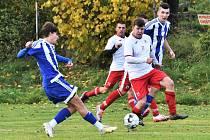 Fotbalová B třída: Sousedovice - Bavorov 3:1.