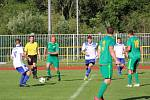 Fotbalová A třída: Prachatice - Vodňany 4:2.