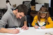 Výtvarná soutěž pro děti. Ilustrační foto.