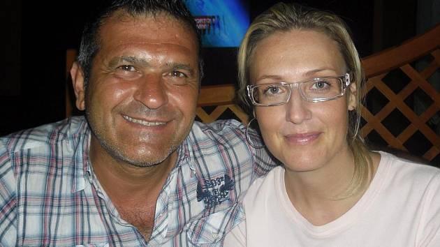 Marco Marcellini a Kateřina Eremiášová.