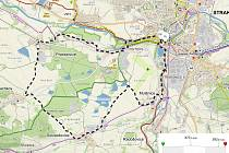 Pro cyklisty jsou připraveny tři trasy v délce 15 km, 42 km a 61 km.