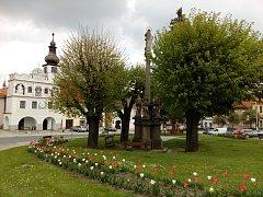 Volyně, náměstí Svobody. Ilustrační foto