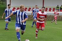 Fotbalová A třída: Lhenice - Sousedovice 1:1.