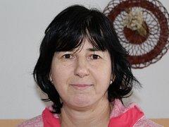 Učitelka Hana Křenková.
