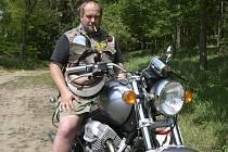 Motorkář Karel Havelec