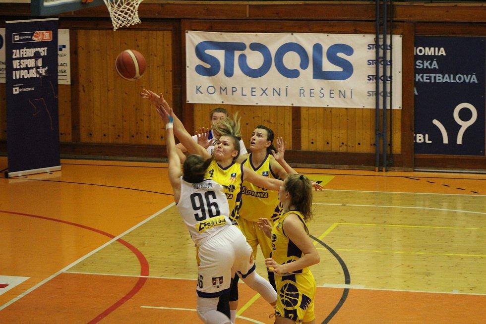 Renomia ŽBL: BK Strakonice - Slovanka 77:71.