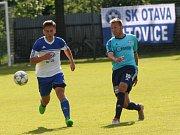 Katovičtí fotbalisté zakončili sezonu domácí výhrou 2:0 nad Hlubokou a celkově skončili čtvrtí.