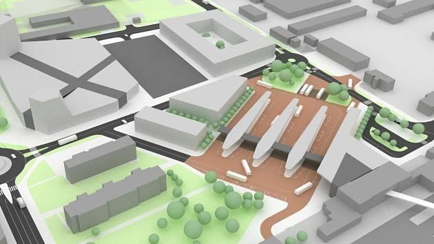 Studie proměny nádraží i jeho okolí