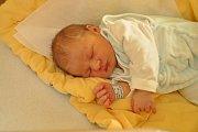 Kristián Hančl, Mečichov, 29.1.2018 ve 14.43 hodin, 4160 g. Malý Kristián je prvorozený.