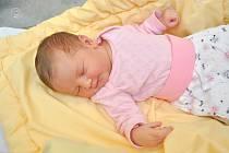 Nella Sojková ze Zdíkova. Nelinka se narodila 6. 12. 2019 ve 3.13 hodin a její porodní váha byla 3 800 gramů. Roční Milánek se nemohl malé sestřičky dočkat.