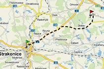 Cesta je dlouhá 17 kilometrů
