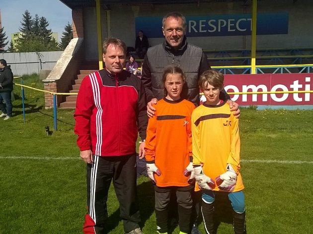 Dne brankářů se účastnil ibývalý gólman reprezentace Luděk Mikloško.