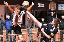 Radomyšl v jihočeském derby s Dynamem České Budějovice venku prohrála 3:4.