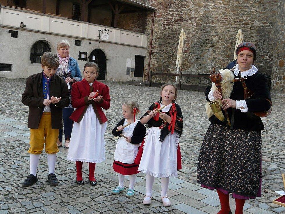 Katovická kronikářka Irena Novotná (vpravo).