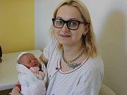 Zoey Bartáčková, Strakonice, 13.5. 2017 v 19.45 hodin, 3260 g. Malá Justýna je prvorozená. Claudia a Bibiana mají malou sestřičku.