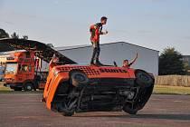 Flott Cascaders Team předvedl ve středu 11. září své divoké kousky na strakonickém letišti.