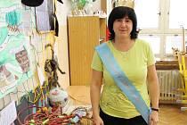 Hana Křenková skončila v soutěži Zlatý Ámos těsně před branami finále. Pro své žáky stejně zůstane tou nejoblíbenější učitelkou.