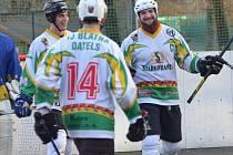Hokejbalisté Blatné vyhráli i druhé utkání v sezoně.