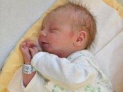 Jakub Papež, Č. Budějovice, 25.5. 2017 v 10.20 hodin, 2850 g. Malý Jakub je prvorozený.