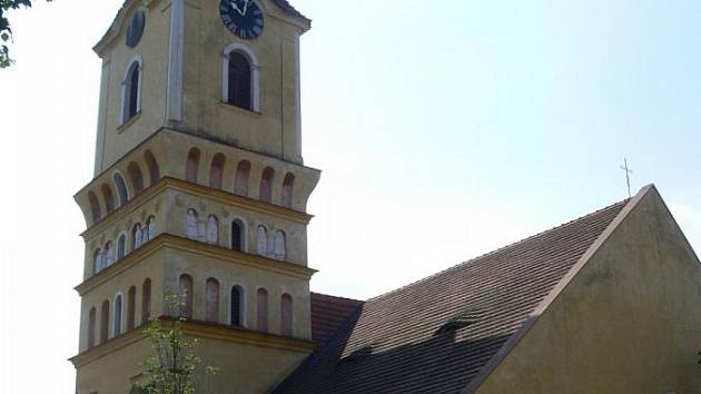 Kostel sv. Filipa a Jakuba je historickou památkou Katovic.
