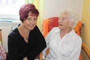 O víkendu oslavila paní Marie Honnerová 103. narozeniny