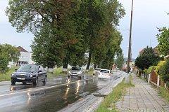 Strakonice - Od 9. října začíná oprava spojovací komunikace k jatkám a chodníku na Volyňské ulici