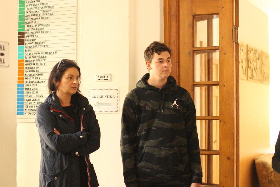 Den otevřených dveří Střední rybářské školy ve Vodňanech.