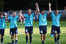 Katovice berou tři body ze zápasu s Mariánskými Lázněmi. Ilustrační foto.
