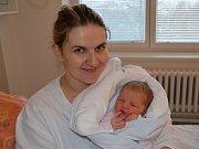Valerie Iša, Číčenice, 16.2.2018 ve 12.45 hodin, 3880 g. Olívie(3,5) má malou sestřičku.