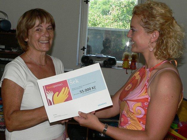 Před nedávnem obdrželo občanské sdružení cestou vůle sponzorský dar.