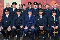 Dobrovolní hasiči z Malenic.