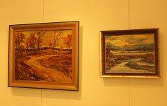 Vodňany - Již jen týden bude možné navštívit výstavu protivínského malíře Josefa Miloty.