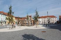 Mírové náměstí v Horažďovicích.