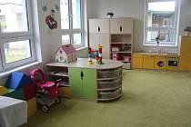 Mateřská školka pro dvou až tříleté děti ve Vodňanech.