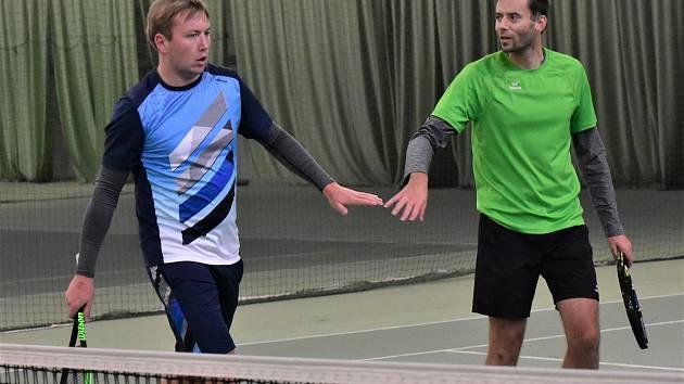 Přemysl (vlevo) a Tomáš Fialové.