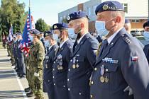 Strakoničtí vojáci oslavili sté výročí obrany proti letadlům.
