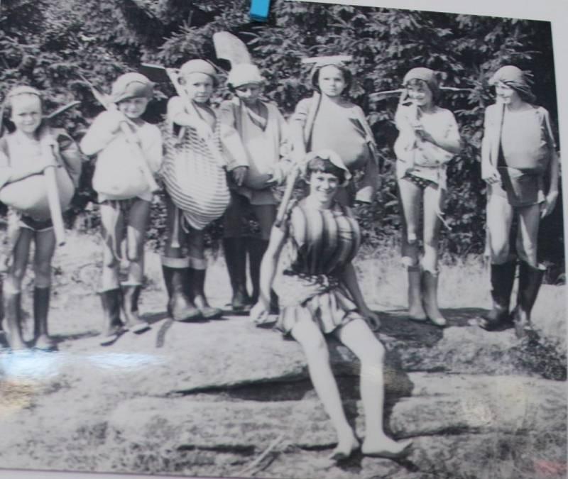 Vodácké tábory.