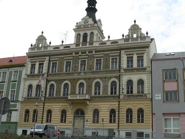 Bývalá škola na Velkém náměstí.