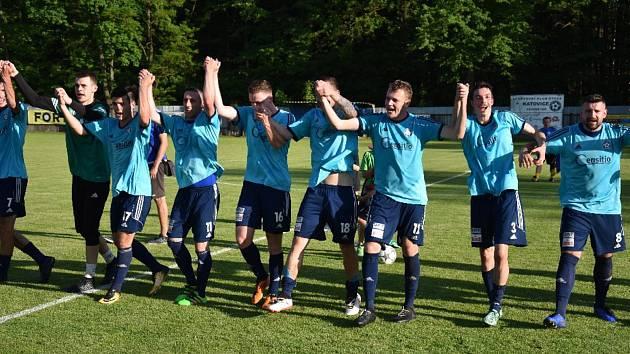 Fotbalový krajský přebor: Katovice - Lom u Tábora 4:0.