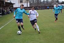 Fotbalová divize: Katovice - Mýto 2:1.